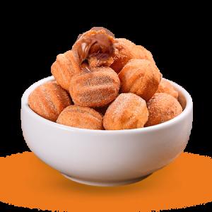 Minichurros com NUTELLA® 20g